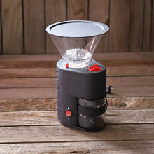 Load image into Gallery viewer, Coffee Grinder, Bodum Bistro Burr Grinder, Black