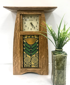 Dard Hunter Poppy Clock - Schlabaugh & Sons
