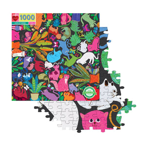 Cats At Work Puzzle (1008pc)