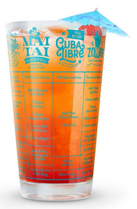 Good Measure Recipes Glasses Collection - 16 oz