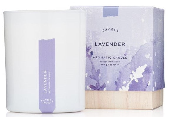 Lavender Candle - Thymes Collection