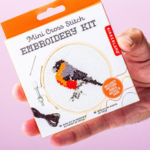 Load image into Gallery viewer, Bird Mini Embroidery Kit