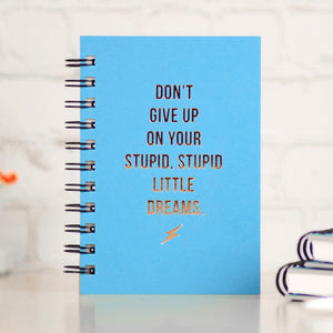Don't Give Up - Journal