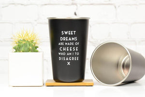Misheard Lyrics Pint Glass - Sweet Dreams