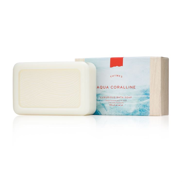 Aqua Coralline Bar Soap - Thymes Collection
