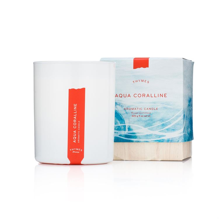 Aqua Coralline Candle - Thymes Collection