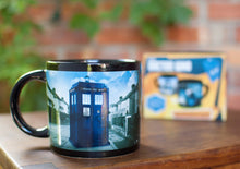 Load image into Gallery viewer, Doctor Who TARDIS Mug - Unemployed Philosophers