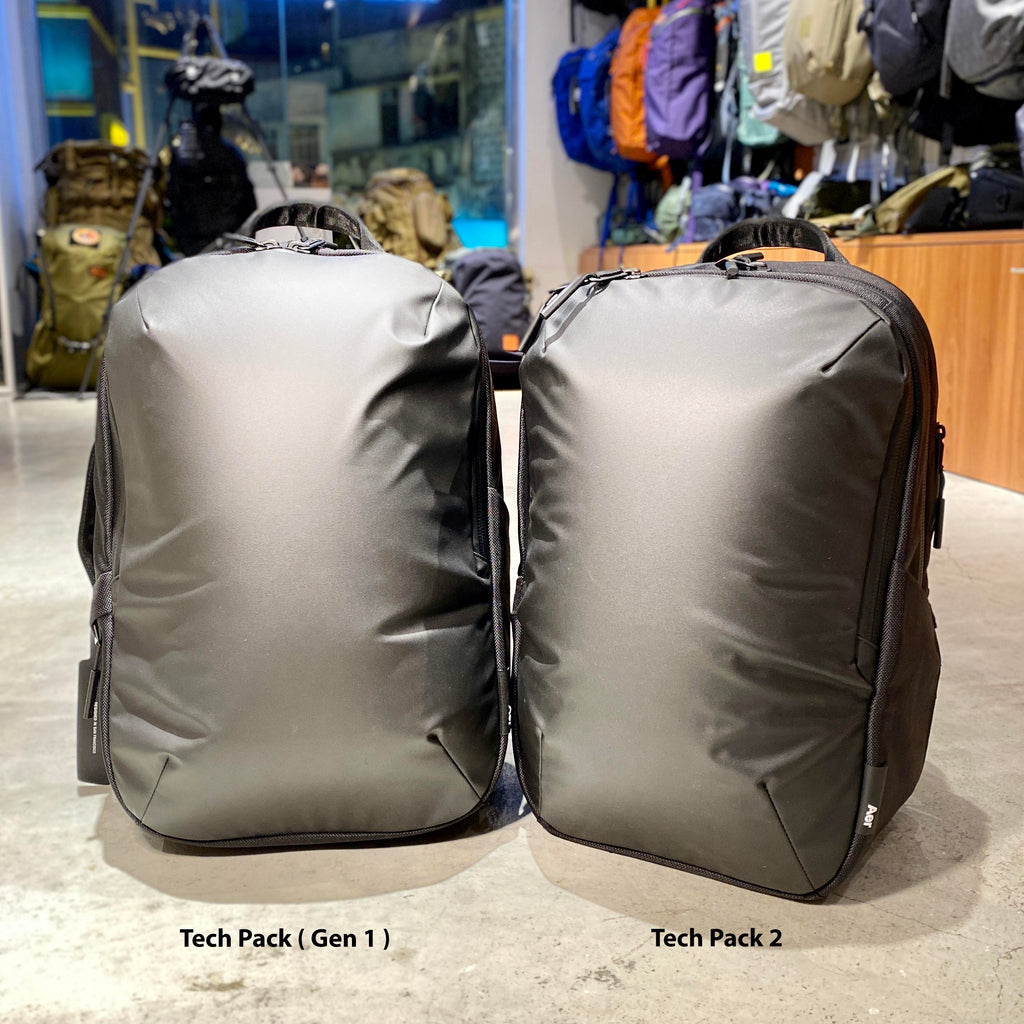 Aer Tech Pack2とTechPack第1世代