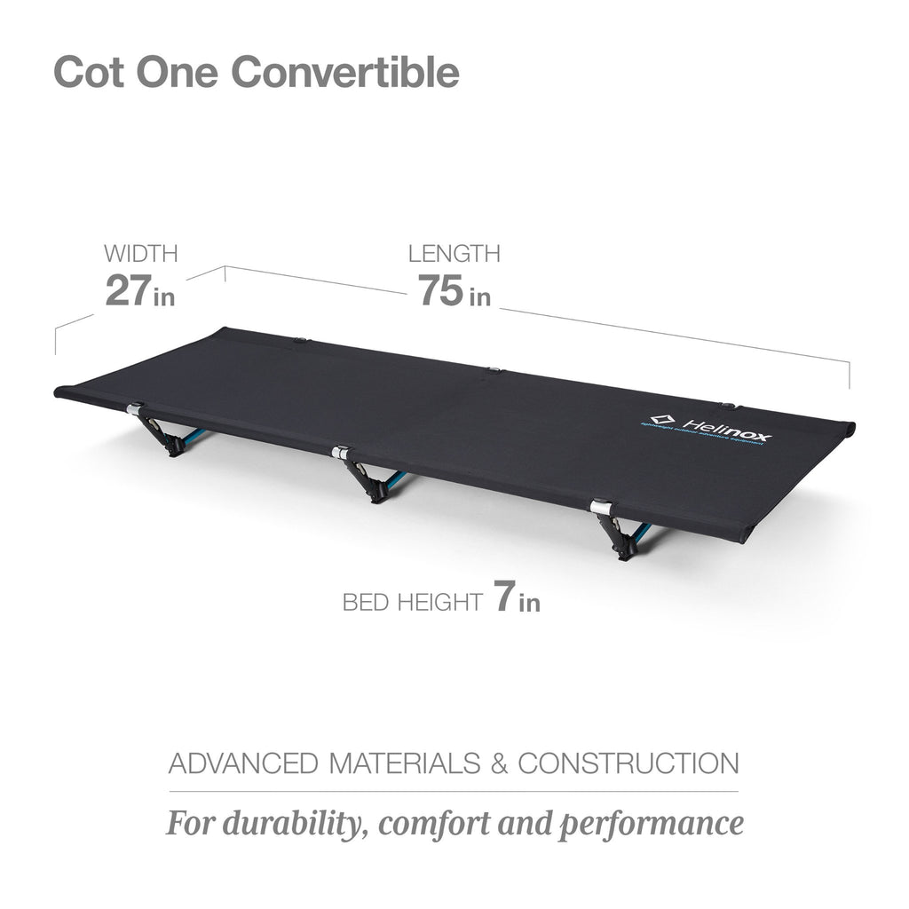 COT ONE CONVERTIBLE-BLACK / O.BLUE