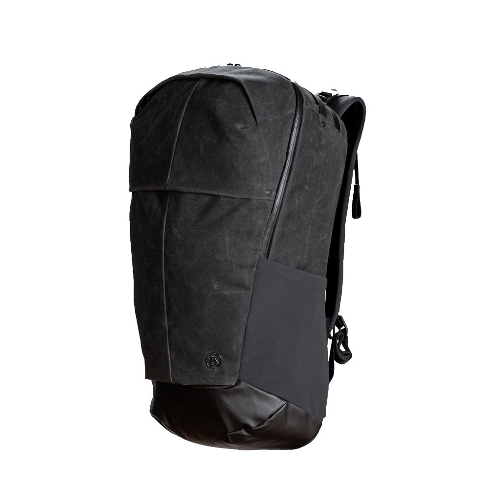 Alchemy equipment - 30 LITRE ZIP ACCESS DAYPACK AEL022 - BLACK WAX