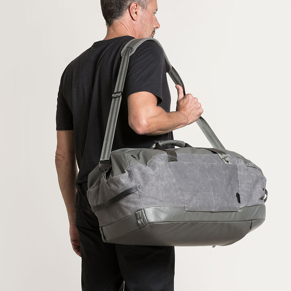 Alchemy equipment - 60 LITRE DUFFEL AEL023 - GUNMETAL WAX