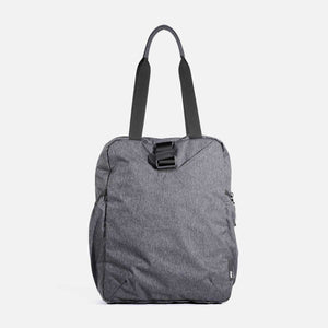 AER GO TOTE - Heathered Black ( PREORDER SHIP IN JULY )