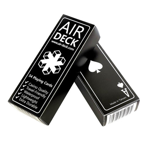 Air Deck - Playing Cards - Black