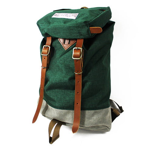 Wilderness Experience - Balti with Leather - Forest Green