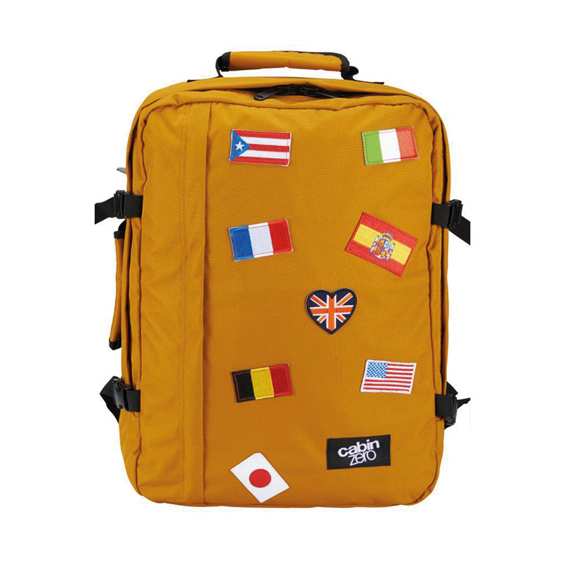 89fae956b72 Cabin Zero Classic Backpack - Orange Chill Flags | Official Dealer ...