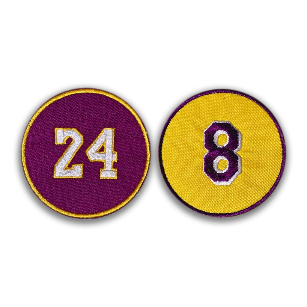 RIP Kobe Circle Patch Set
