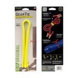 "GEAR TIE® REUSABLE RUBBER TWIST TIE™ 18"" - NEON YELLOW"