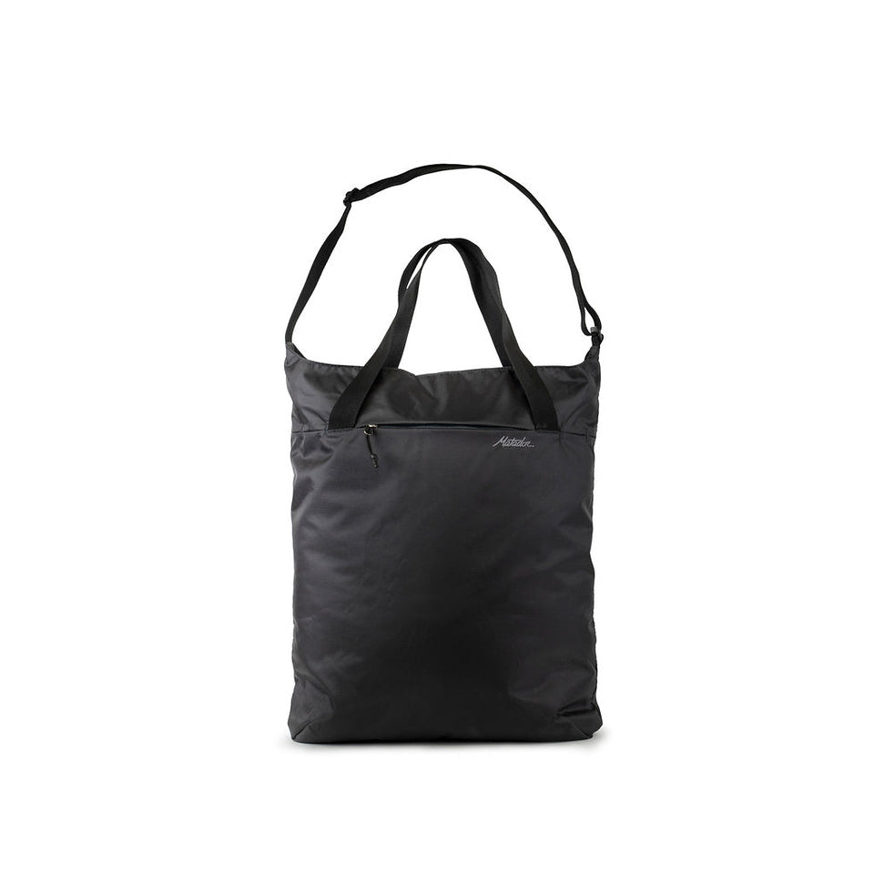 On-Grid Tote - Charcoal
