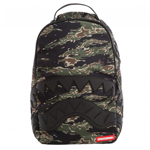 Sprayground - GREEN TIGER CAMO