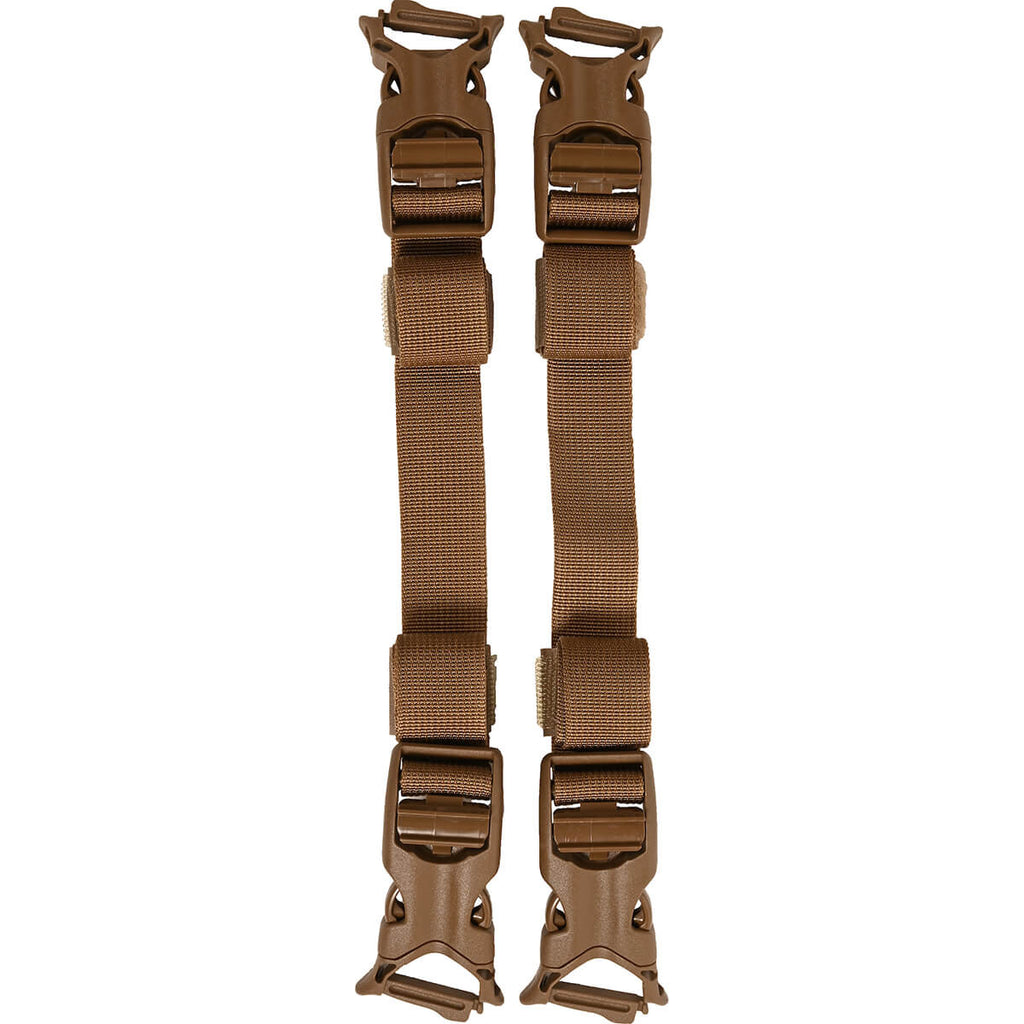 Quick Attach Accessory Straps - Coyote