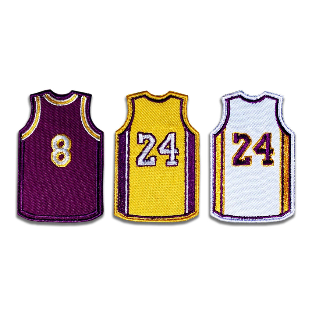 Kobe RIP Jersey Patch Set