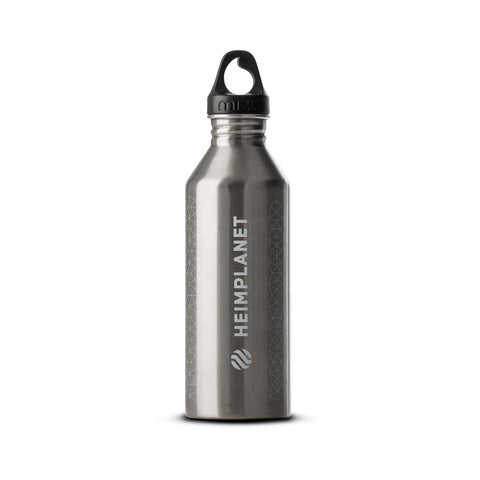 HPT X MIZU CAIRO GRID BOTTLE - SILVER WHITE