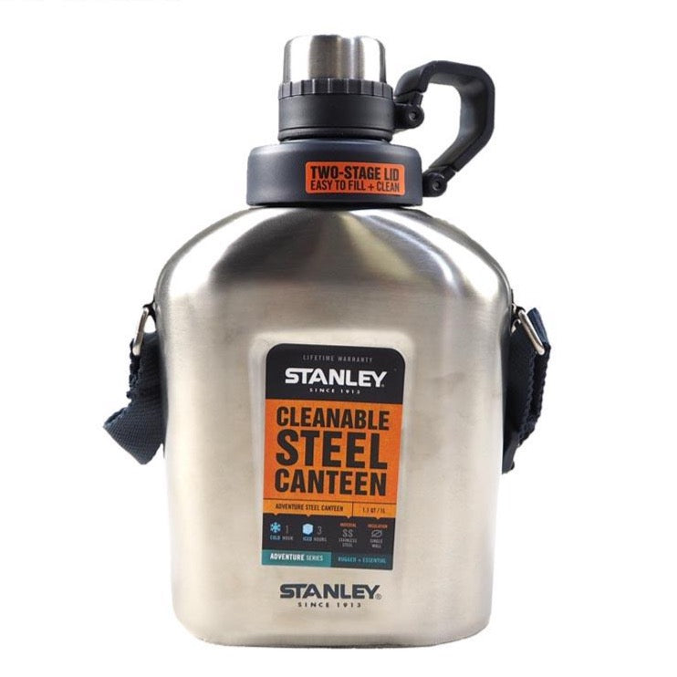 ADVENTURE STEEL CANTEEN Stainless Steel 1L