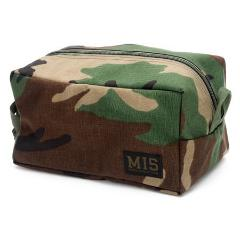 MESH TOILETRY BAG - Woodland Camo ( Made in USA🇺🇸 )