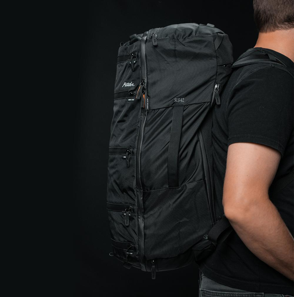 SEG42 Travel Pack - Black