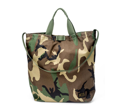 MIS WATERPROOF CARRYING BAG - WOODLAND CAMO
