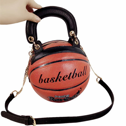 Basketball Shape Women's Handbag - Pauline's Phashn, Qute Karma