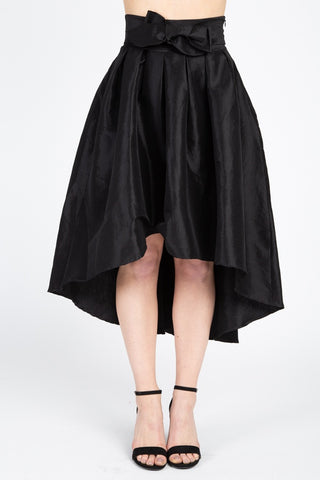 Taffeta High-Low Skirt - Pauline's Phashn, Qute Karma