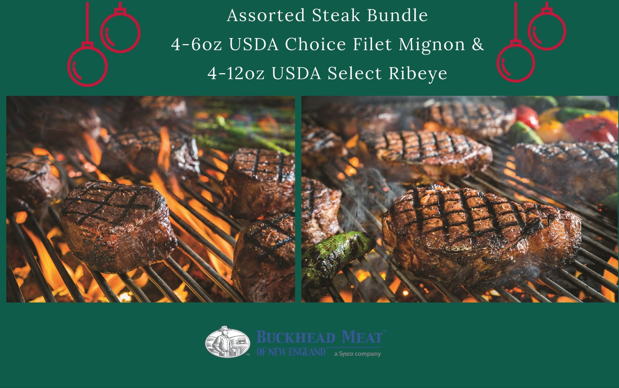 Assorted Steak Bundle (Beef)