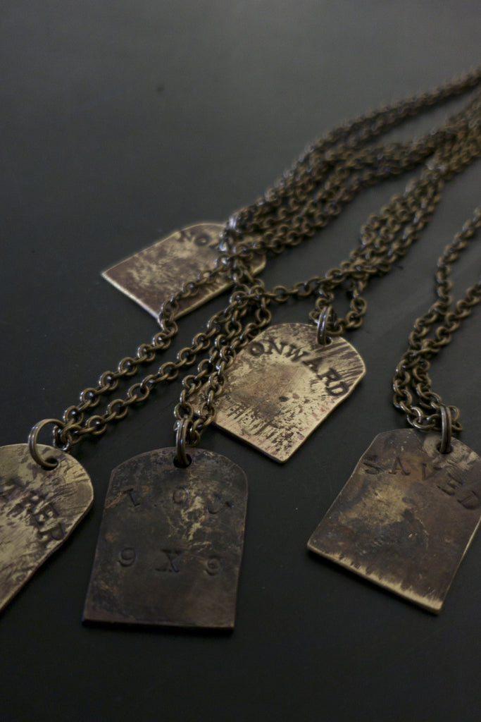 1924US X LBD CUSTOM BRASS TOMBSTONE COLLAB