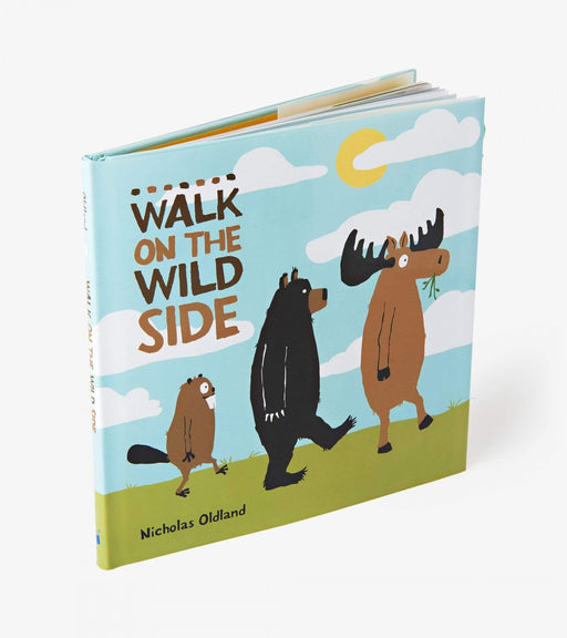 A Walk On The Wild Side Children's Book - Polar Bear Gifts