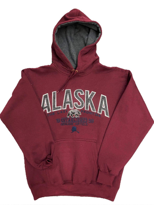 Alaska Grizzly Hoodie SOFT GOODS / S-SHIRTS