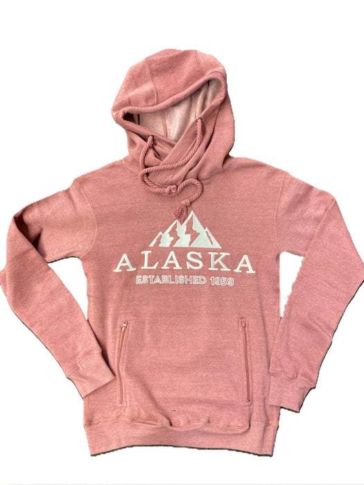 Ladies Mountain Pull Over Hoodie - Polar Bear Gifts