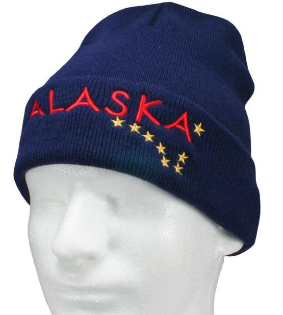 Navy Blue Big Dipper, Winter Hat - Polar Bear Gifts