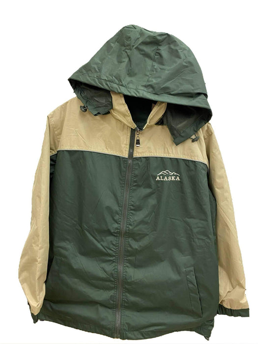 Olive/ Khaki, Alaska Mountain Rain Jacket SOFT GOODS / JACKETS