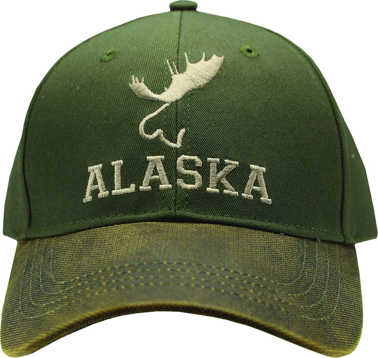 Simple Moose Oilskin Hat - Polar Bear Gifts