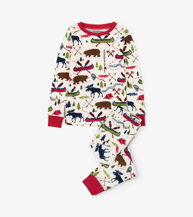Sketch Country Kids Pajama Set - Polar Bear Gifts