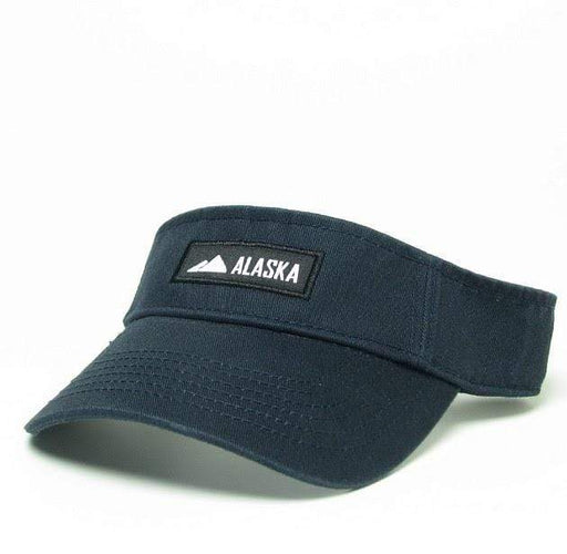 Visor - Alaska Patch Navy - Polar Bear Gifts