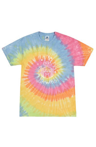 Sun Witch - Tie Dye Eternity Adult Tee
