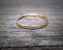 Load image into Gallery viewer, Custom 3mm Hammered Band - 2 rings