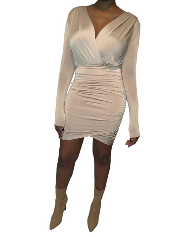 Taupe Dreams Dress