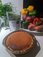 Why do I bake things when I miss my Mom?  + Monk's Chai Sweet Potato Pie Recipe (Non-vegan)