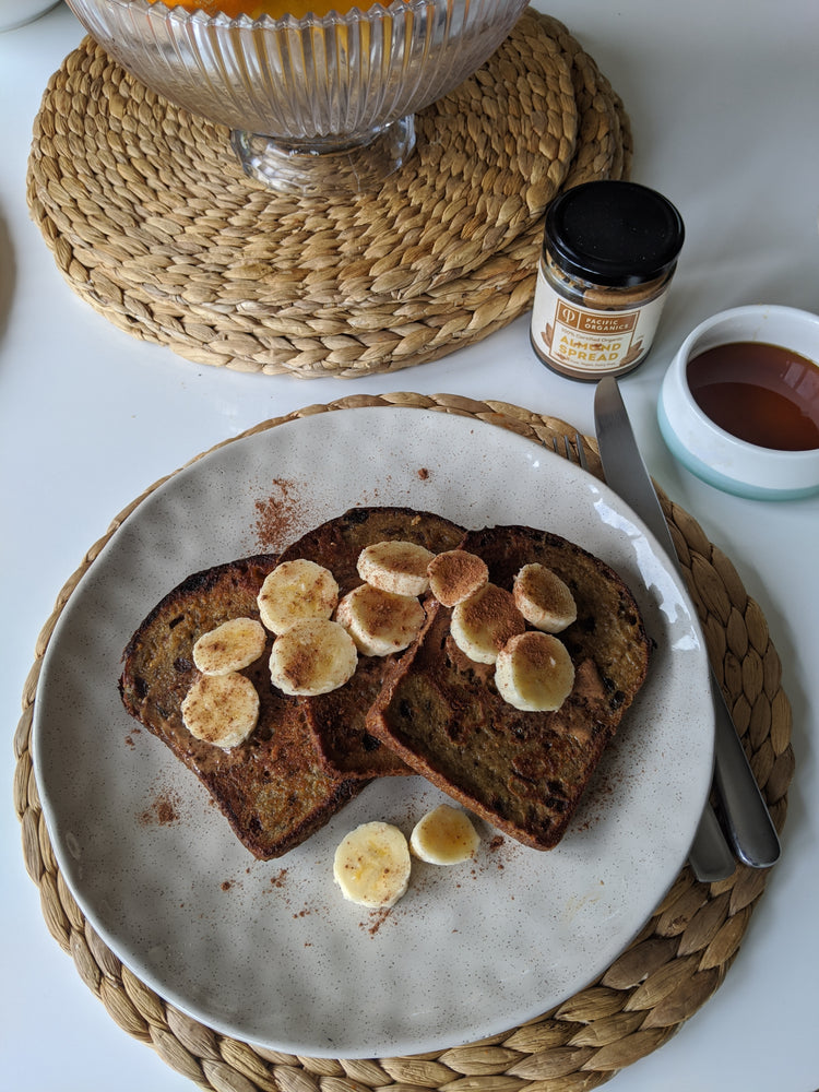 Monk's Chai Vegan French Toast