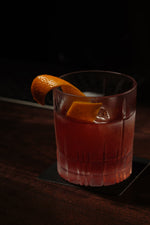Monk's Chai Spiced Gin Negroni by Hayden Lambert from Above Board