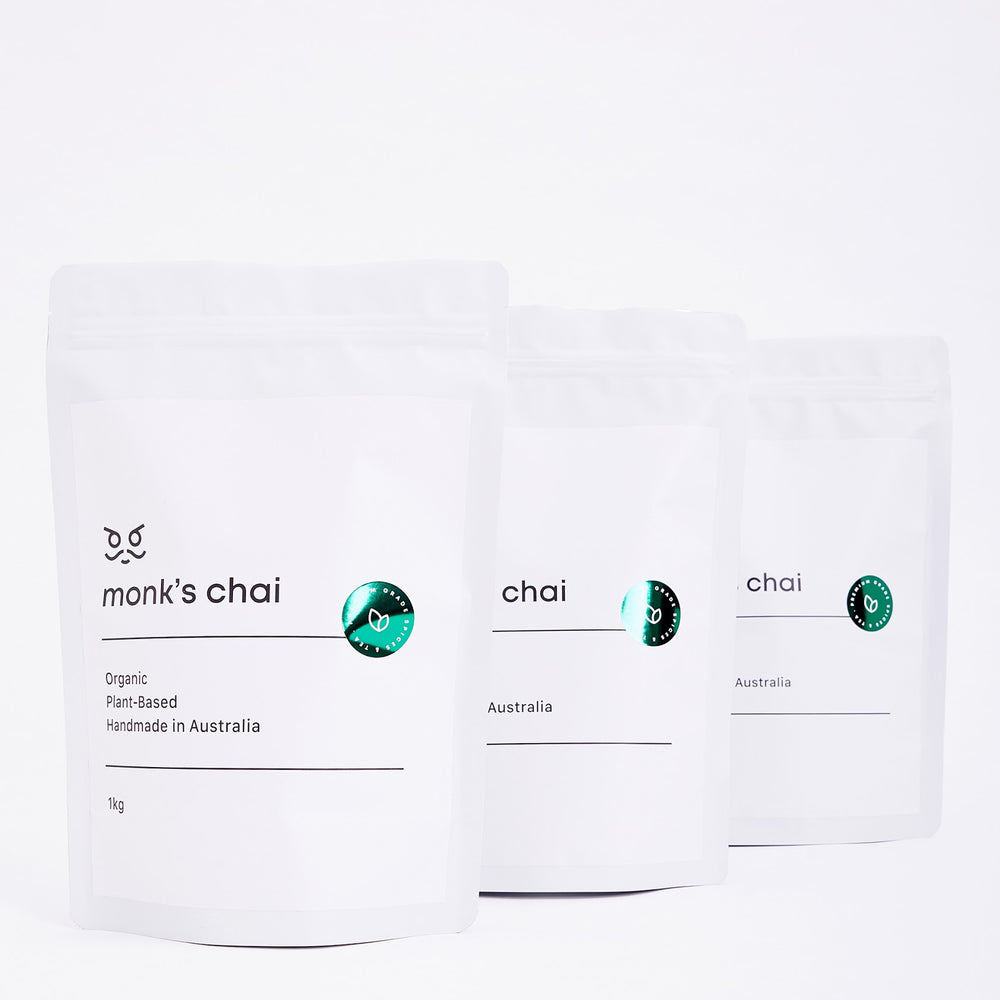 Monk's Chai Army of Peace 3 x 1kg Bags