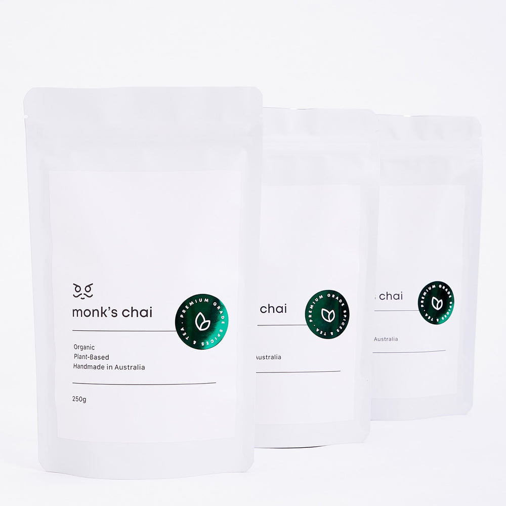 Monk's Chai Army of Peace 3 x 250g bags